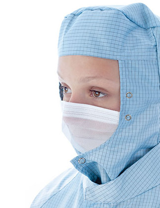 BIOCLEAN Microflow Non-Sterile Face Veil with Studs
