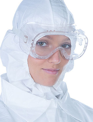 BIOCLEAN Clearview Sterile Single Use Goggles from The Cleanroom Market