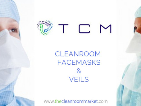 Cleanroom Facemasks and Veils  from The Cleanroom Market