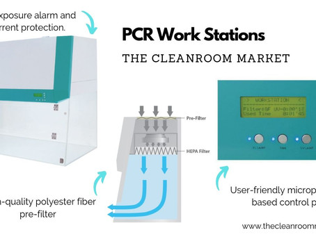 PCR Workstations and Cabinets from TCM