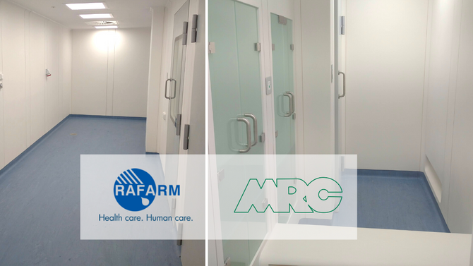 3rd  Cleanroom for RAFARM, Greece by MRC