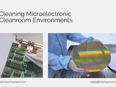 Cleaning in controlled environment: Microelectronics