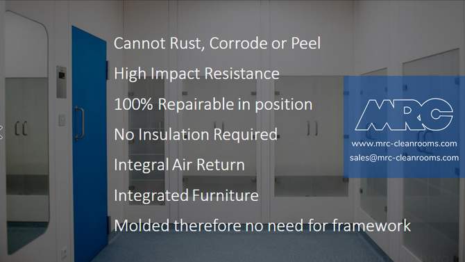 Cleanroom Paneling Systems from MRC
