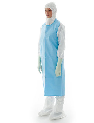 BIOCLEAN-C Sterile Chemo Protective Apron with Sleeves from The Cleanroom Market