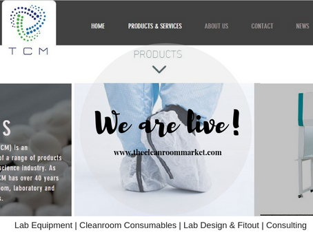 The Cleanroom Market-  We are live !