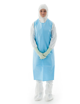 Non Sterile Chemo Protective Apron with sleeves from BIOCLEAN offered by The Cleanroom Market
