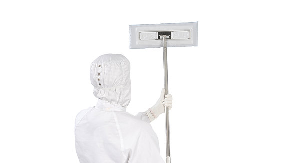Cleanroom Mops and Mopping systems from The Cleanroom Market