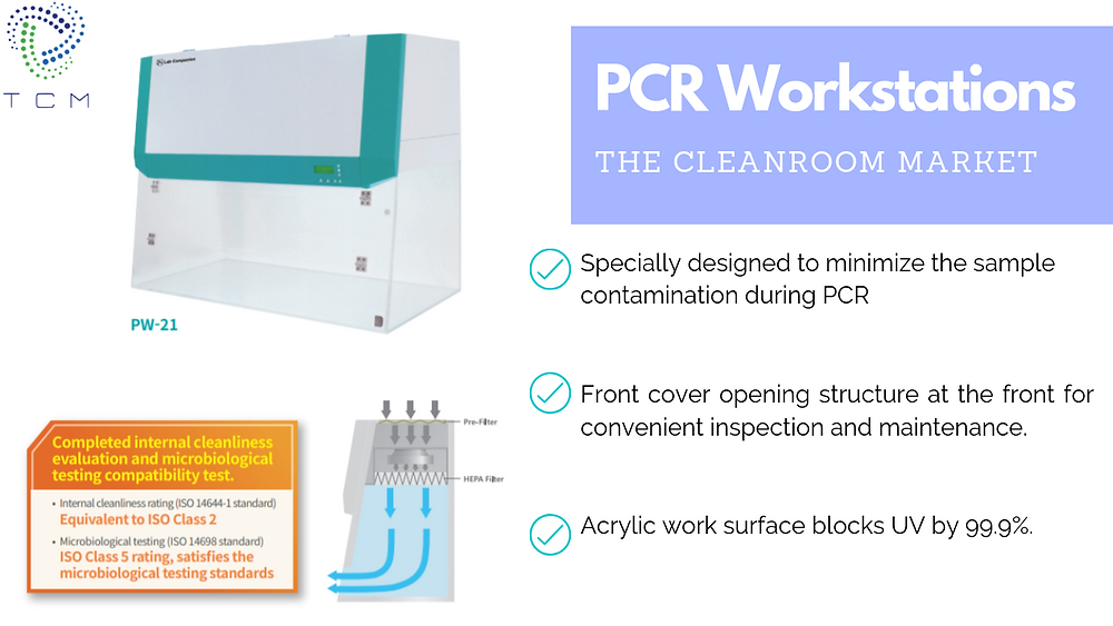PCR Hoods and PCR Workstations