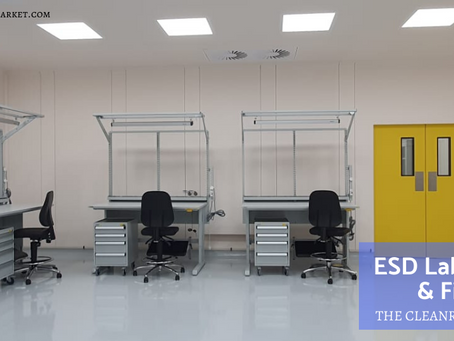 ESD & Static Control Workplaces- Design and Fitout