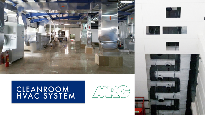 Cleanroom HVAC Systems   MRC Cleanrooms