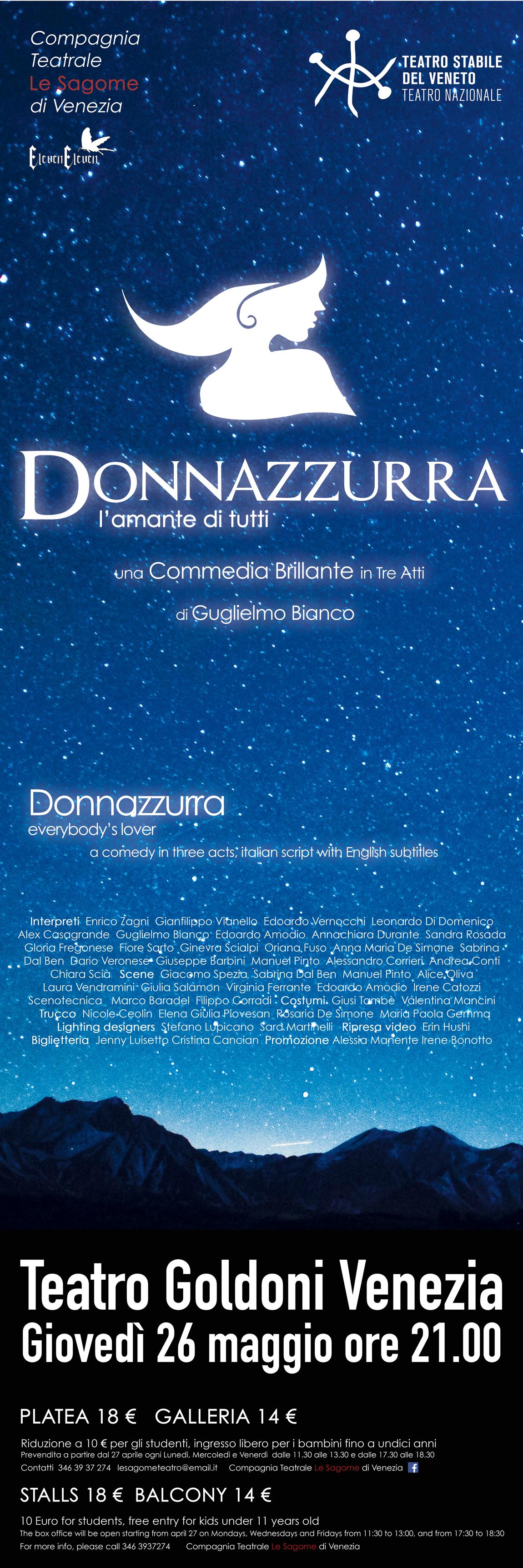 Donnazzurra, l'amante di tutti