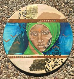 """Nubian Woman I"""