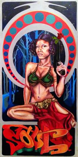 """Nubian Princess Leia"