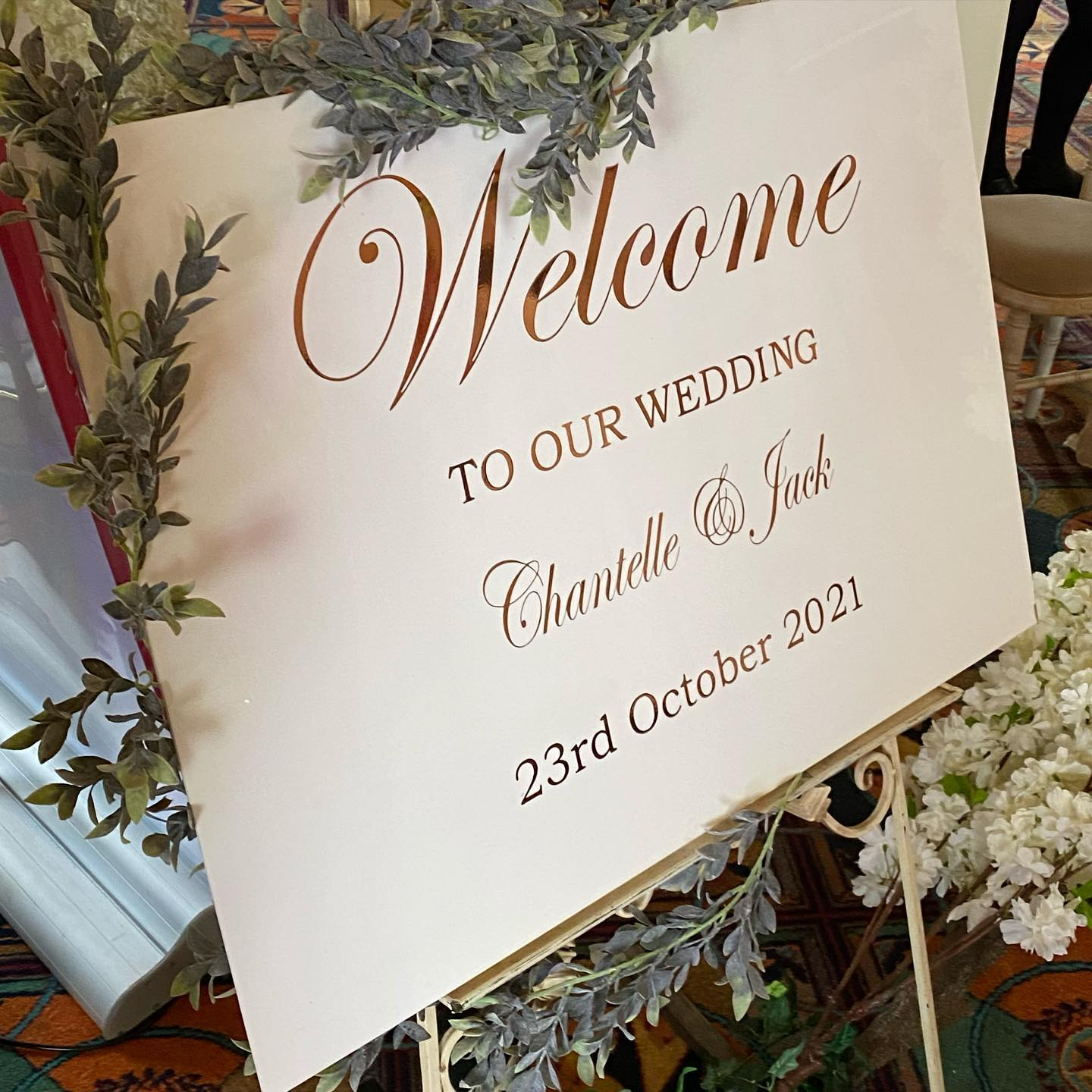 WELCOME BOARDS FOR WEDDINGS AND EVENTS