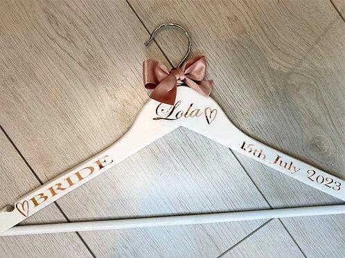 Personalised Bridal Hangers