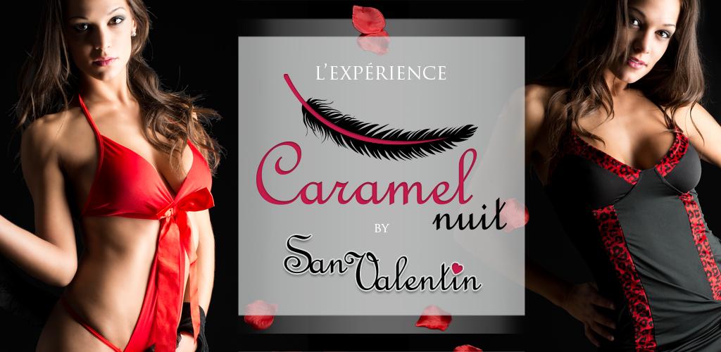 Banner San Valentín Caramel nuit