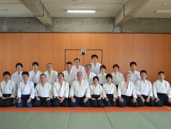 竹の氣クラブ1周年記念稽古・演武会
