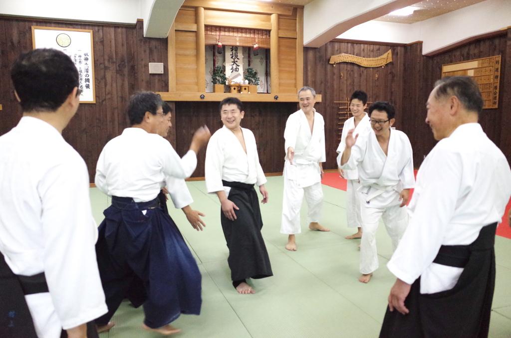 箱根合宿2016年 八方斬りの回避_@箱根神社武道場