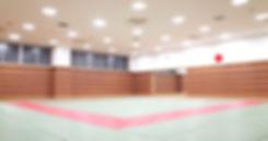 アクセス(教室のご案内)ページ扉絵@品川区総合体育館武道場