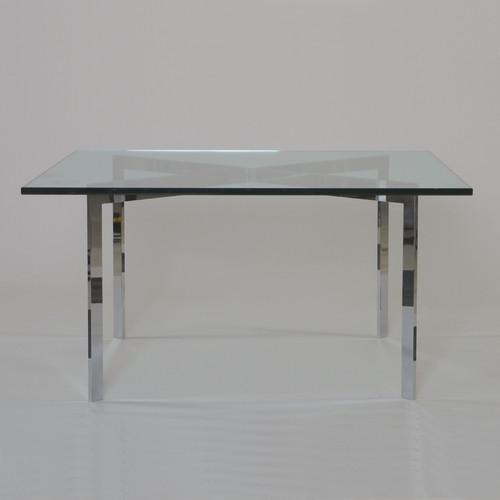 mies van der rohe barcelona table 1930. Black Bedroom Furniture Sets. Home Design Ideas