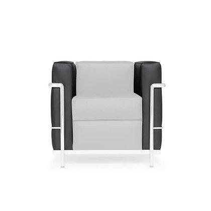 Ensemble de coussins latéraux pour fauteuil LC2