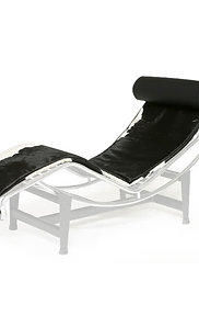 Lounger cowhide Mattress + Headrest Set