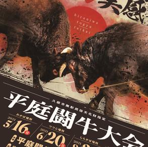 【終了しました】平庭闘牛大会わかば場所/観覧無料