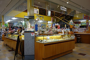 久慈琥珀街の駅店