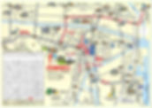 中心市街地&宿泊施設マップ