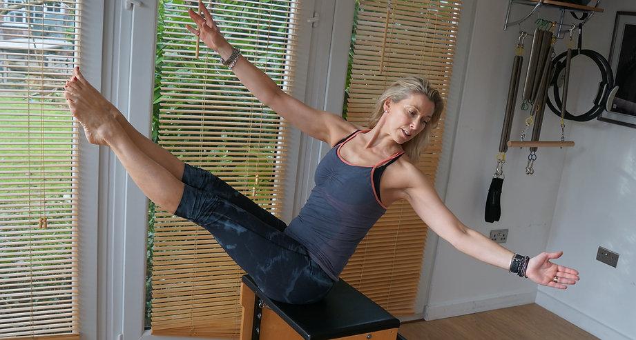 Heidi Monsen pilates reformer