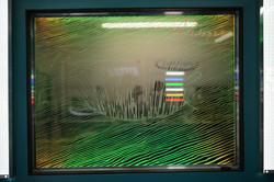 Laser Engraved Window