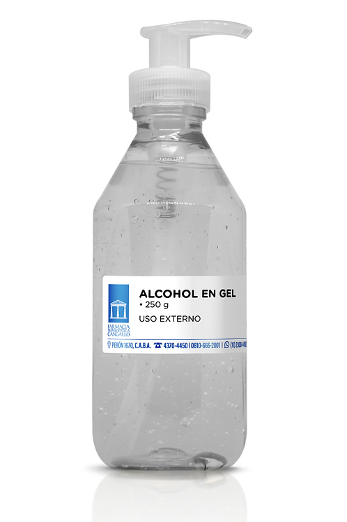 Alcohol en gel 250 ml
