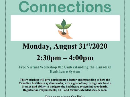 Wellness Connections Free Virtual Workshop #1: Understanding the Canadian Healthcare System