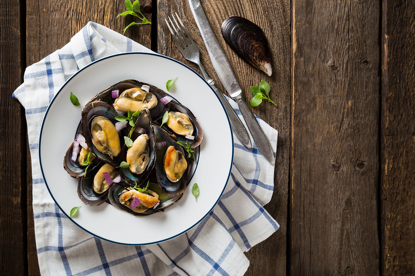 Mussels (price per lb)