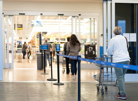 Walmart to limit total customers to 20% of store capacity, among other changes starting today
