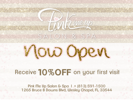 Now Open: Pink Me Up Salon & Spa