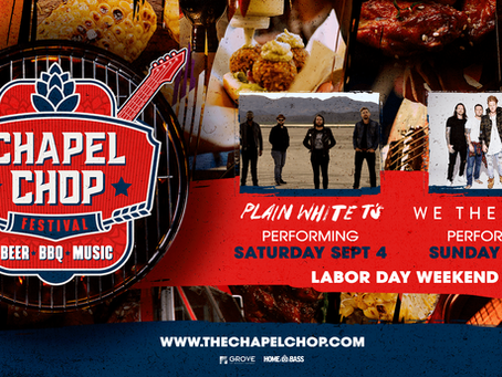 Chapel Chop Music Festival featuring Plain White T's and More!