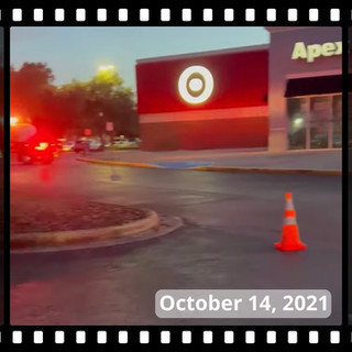 Gas Leak at Wesley Chapel Target Shopping Center