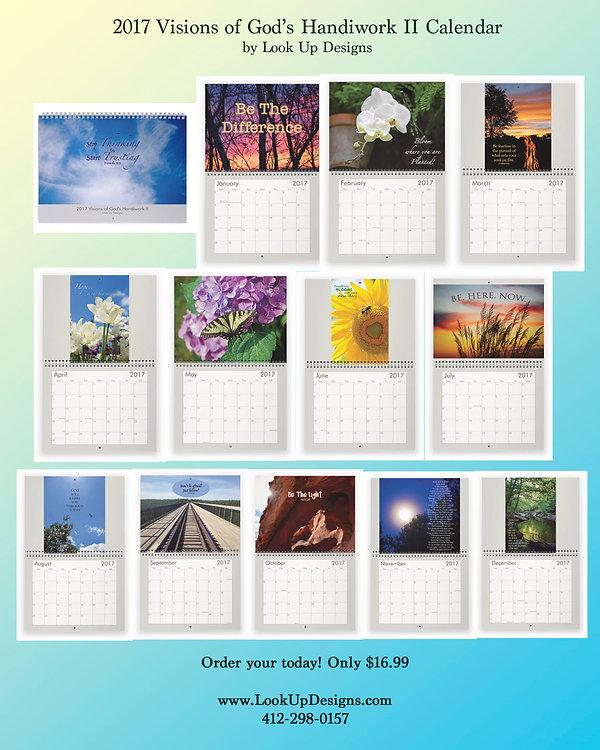 2017 Visions of God's Handiwork Calendar