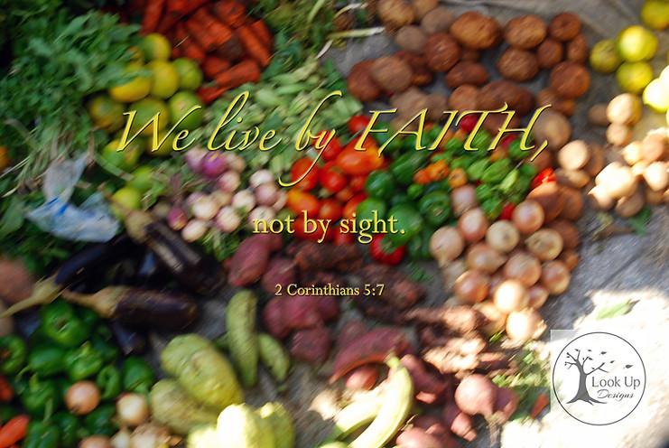 2 Cortinthians 5:7
