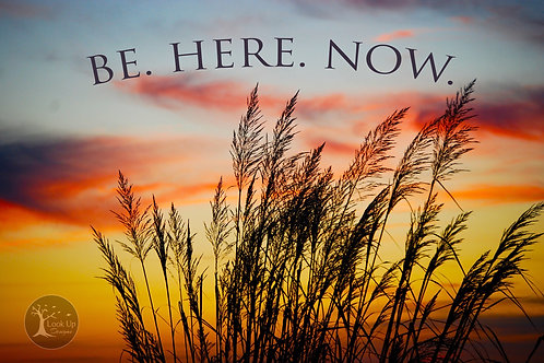 Be Here Now 8x10 print