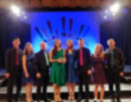 Octavoce Winners of the City of Derry International Choir Festival National Vocal Ensemble winners