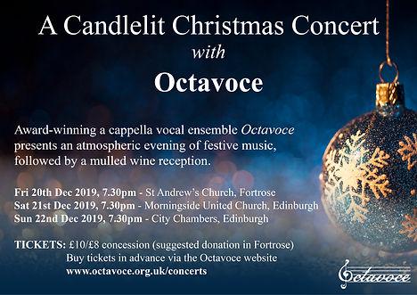 Octavoce Christmas Concert 2019