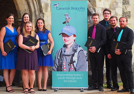 Octavoce supporting the Cameron Bespolka Trust in Winchester