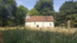 Church in Little Somborne Winchester Venue for Octavoce concert