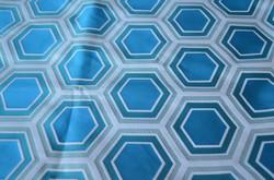 Motif Hexagone turquoise
