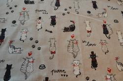 Chats noirs et blancs