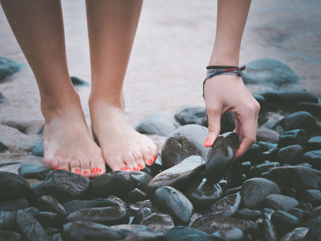 Flat feet are not genetic. You aren't stuck with them!
