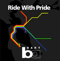 Ride With Pride sticker