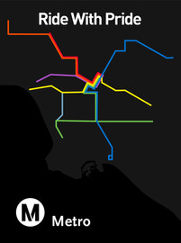 Ride With Pride - LA Metro